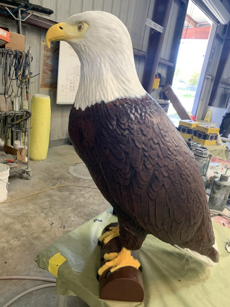 Eagle Effigy in Production